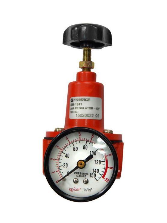 Регулятор давления с манометром для пневмосистем 3/8'