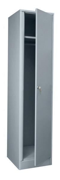 Шкаф гардеробный ( доп. ) ШМ-2М-400 Размеры: (ШхВхГ) 600х1800х500 мм. Не может использоваться как отдельный щкаф по причине  отсутствия одной боковой стенки