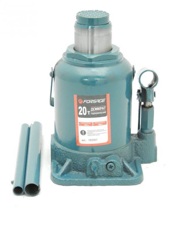 Домкрат бутылочный 20т низкий (h min 190мм, h max 335мм)
