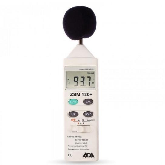 Шумомер в диапазоне от 35 до 130 дБ, в диапазоне 31.5 Гц-8 кГц, передавать данные на регистратор