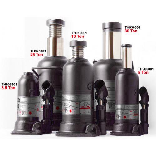Домкрат бутылочный 12т профи (h min 230мм, h max 495мм)