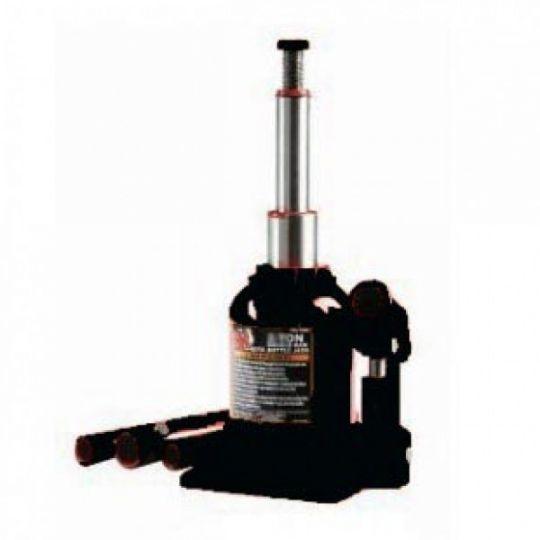 Домкрат бутылочный с двумя штоками,  8т с клапаном (h min 270мм, h max 635мм)
