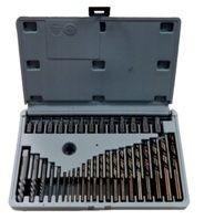 Набор бит-экстракторов для извлечения поврежденных болтов 35пр.   (M3.5-M5.5,M6.5,M7.5-M11.5,M12-M14.5,M15.5-M18.5,M19.5-M23)
