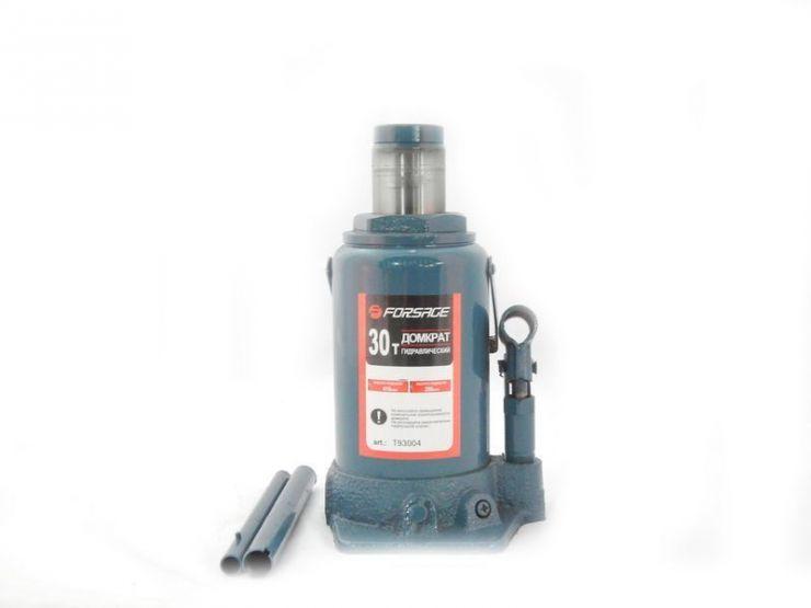 Домкрат бутылочный 30т с клапаном, 30т (h min 285мм, h max 465мм)