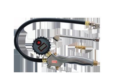 Пистолет для подкачки колес с цифровым манометром (шланг 30см)