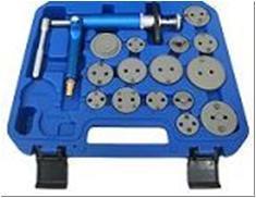 Набор для обслуживания тормозных суппортов пневматический универсальный