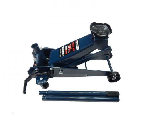 Домкрат подкатной  3 т с педалью (h min 135мм, h max 505мм)