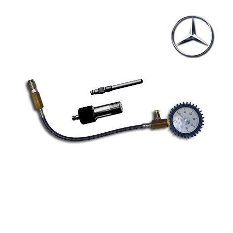SMC-MERCEDES, Специальный компрессометр для дизельных двигателей автомобилей Mercedes.  Применяется на двигателях OM601-606 и др. с кузовами W202/W203, S203/SL203/S202.
