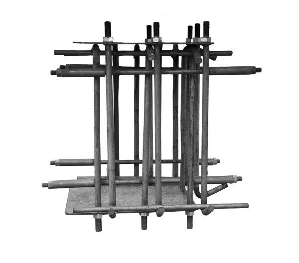 Комплект фундаментных корзин для 2-х стоечного подъемника 'ПГА'