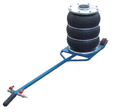 Домкрат пневматический  Грузоподъемность 4 тонны, Рабочее давление 4-12Атм, Высота min/MAX 170мм/430мм, Вес 14,5кг