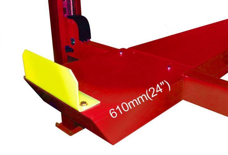 Удлинители платформ для 4х стоечных подъемников моделей А465, А465А,. Длинна 61 см. (компл. 2 шт.)
