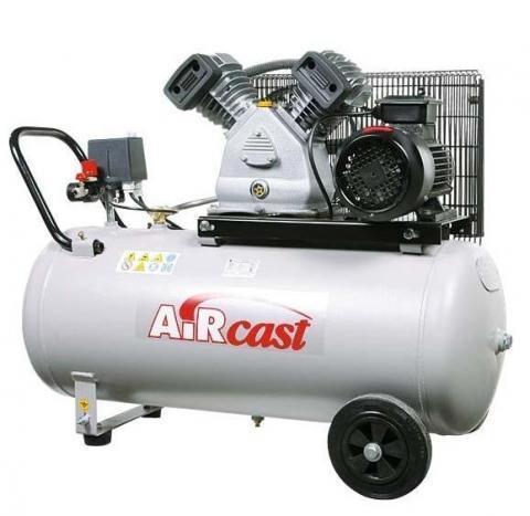 компрессор поршневой 360 л/мин, 10 бар, 2.2 кВт. 380 В, ресивер 50 л.