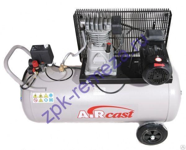 компрессор поршневой 280 л/мин, 10 бар, 2.2 кВт. 220 В, ресивер 100 л.