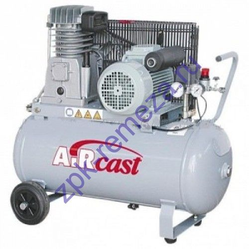 компрессор поршневой 280 л/мин, 10 бар, 2.2 кВт. 380 В, ресивер 50 л.