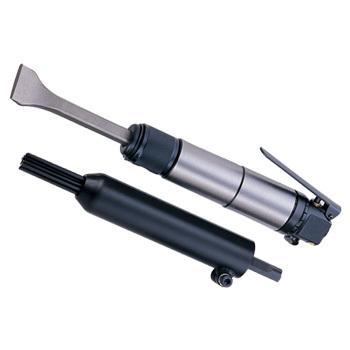 Пневмомолоток с насадками (1700 ударов/мин, потребление 113л/мин., кругл. посадка)