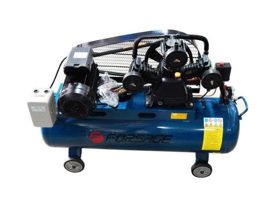 Компрессор 100л 3-х поршневой с ременным приводом  (3.0кВт, ресивер 100л, 360л/м, 220В)