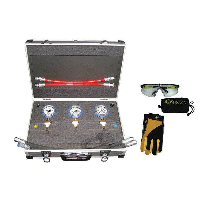 SMC1005/1000/600/400 Эконом Предназначен для контроля выходного давления  с максимально развиваемым давлением до: 400, 600 и 1000 Bar.. Оснащен 3-мя высококачественными манометрами, диаметром 63 мм в защитном кожухе с гелевым наполнителем. Корпус манометр