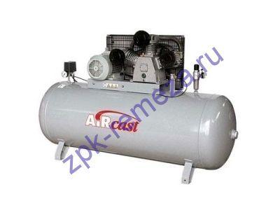 компрессор поршневой 950 л/мин, 10 бар, 5.5 кВт. 380 В, ресивер 500 л.
