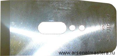 Нож для рубанков Veritas LA JackPlane BevelUp 57 мм / А2 /25 град 05P34.02 М00002325