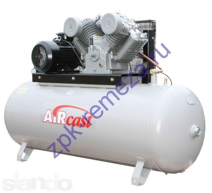 компрессор поршневой 1400 л/мин, 16 бар, 11 кВт. 380 В, ресивер 500 л.