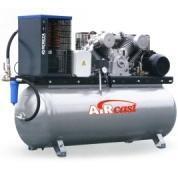 компрессор поршневой 950 л/мин, 10 бар, 5.5 кВт. 380 В, ресивер 500 л., с осушителем холод. типа