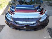 Бампер передний Хендай Солярис крашенный в цвет кузова