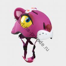 Защитный шлем Crazy Safety «Чеширский кот»