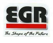 Дефлектор капота Egr, темно-дымчатый