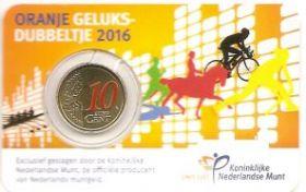 Олимпийские игры в Рио 10 евроцентов Нидерланды 2016 Блистер