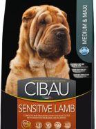 Farmina Cibau Sensitive Lamb Medium & Maxi Для собак крупных и средних пород с ягненком (2,5 кг)
