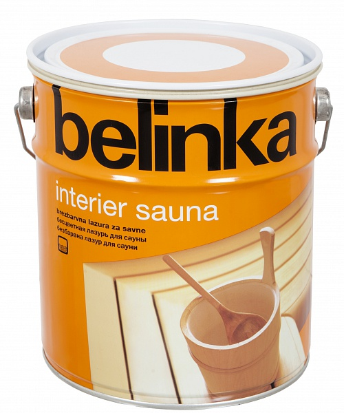 Лазурь термостойкая BELINKA INTERIER SAUNA