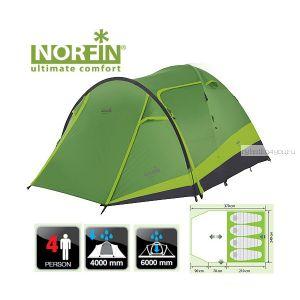 Палатка кемпинговая 4-х местная Norfin RUDD 3+1 Nf10202