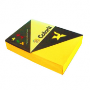 Бумага №747 Колорит, 160, А3, ярко-желтый (арт. 10655)