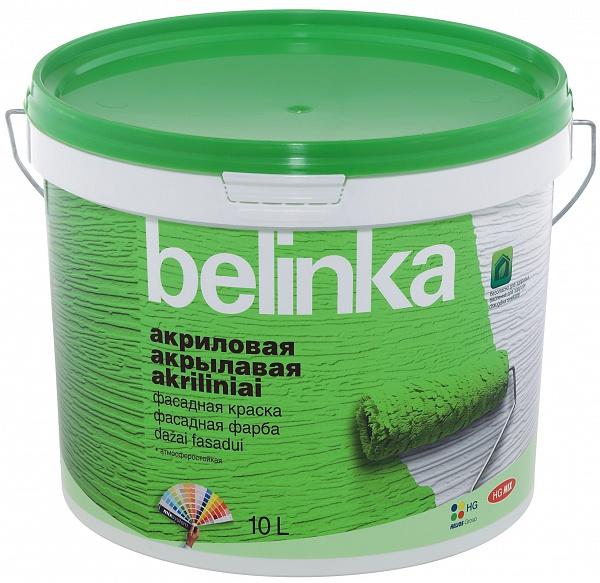 BELINKA акриловая фасадная краска B1