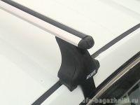 Багажник на крышу Ford Fiesta VII, Атлант, аэродинамические дуги, опора Е