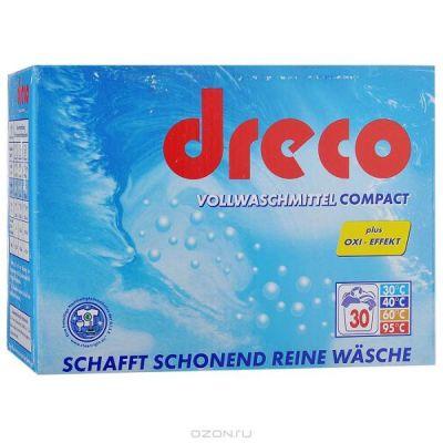 Немецкий универсальный стиральный порошок без фосфатов Dreco в ассортименте