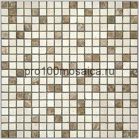 4MT-07-15T Мозаика Мрамор 15*15 I-Тilе 298*298*4 мм (NATURAL)