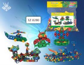 Конструктор пластиковый, 188 деталей (арт. М1108437) TZ8280