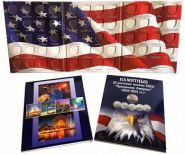 Альбом-планшет для 25-центовых монет США, национальные парки