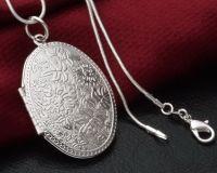 Серебряная ладанка (кулон-тайник)