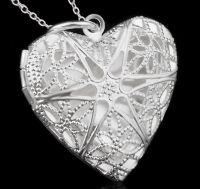 Серебряное сердечко (кулон-тайник)