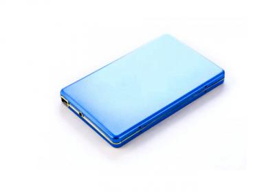 1TB внешний HD USB 2.0 Алюминиевый кейс U003M, SATA 2,5'' Синий