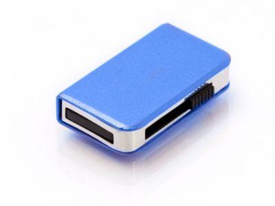64GB USB-флэш накопитель Apexto UM9013, книга слайдер, синяя