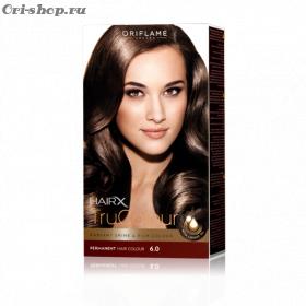 Стойкая краска для волос «Цвет-Эксперт».  Светло-коричневый. 6.0