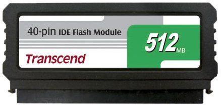 256MB IDE Flash Module 40-pin vertical (low profile) SMI
