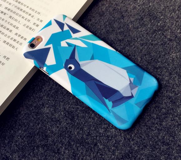 Силиконовый чехол Soft Touch  для Iphone 6/6s (Penguin)