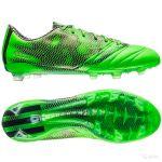 Бутсы adidas F50 adizero FG Leather зелёные