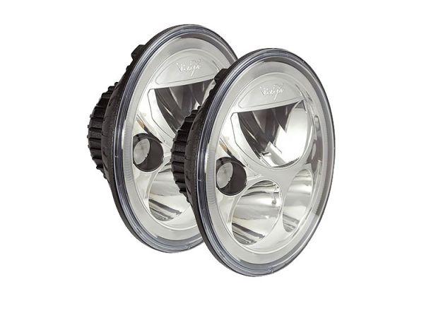 Светодиодная фара головного света Prolight Vortex XIL-7REL полированный хром