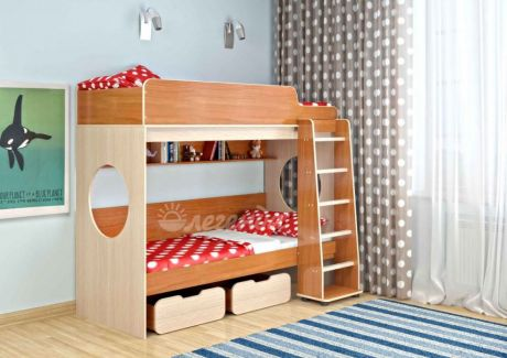 Двухъярусная кровать Легенда 7(комплектация 1)