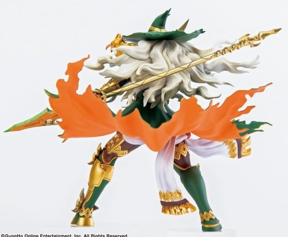 Фигурка Puzzle & Dragons: Shining Lance Wielder Odin Prize